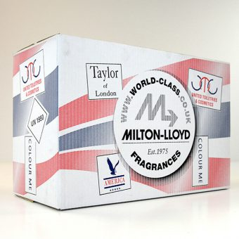 Corrugated boxes for Milton-Lloyd