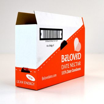 Die cut packaging - Beloved.Date_.Nectar