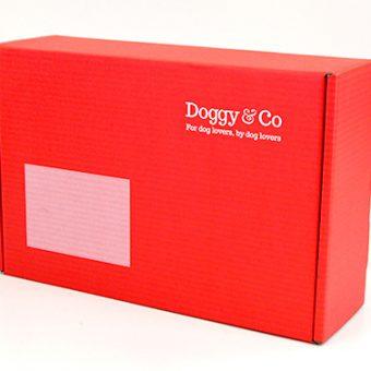 Die cut packaging Doggy Co