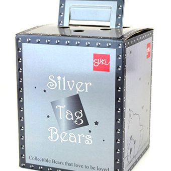 Die cut packaging SilverTagBears