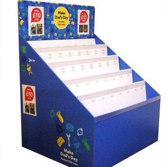 Waterfall Unit - DVD-Full-Pallet-Display